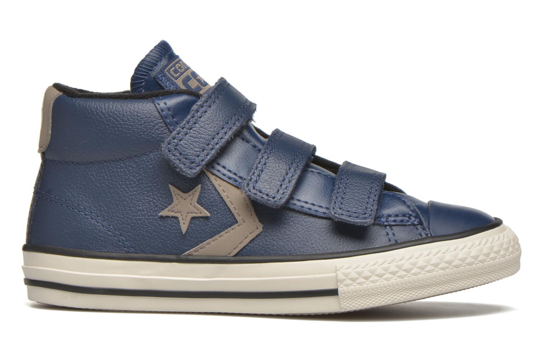 Sneaker Converse Star Player 3V Mid blau ansicht von hinten