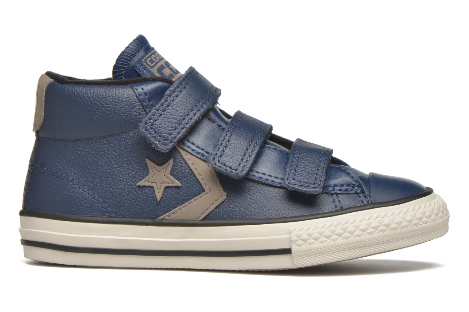 Sneakers Converse Star Player 3V Mid Blauw achterkant