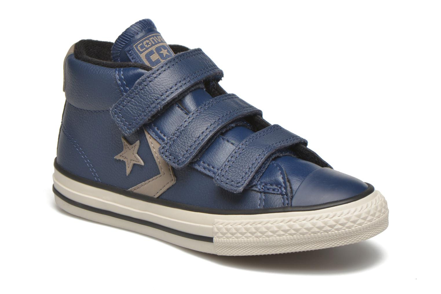 Sneakers Converse Star Player 3V Mid Blauw detail