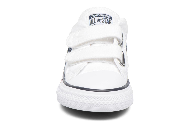 Baskets Converse Star Player 2V Ox Blanc vue portées chaussures
