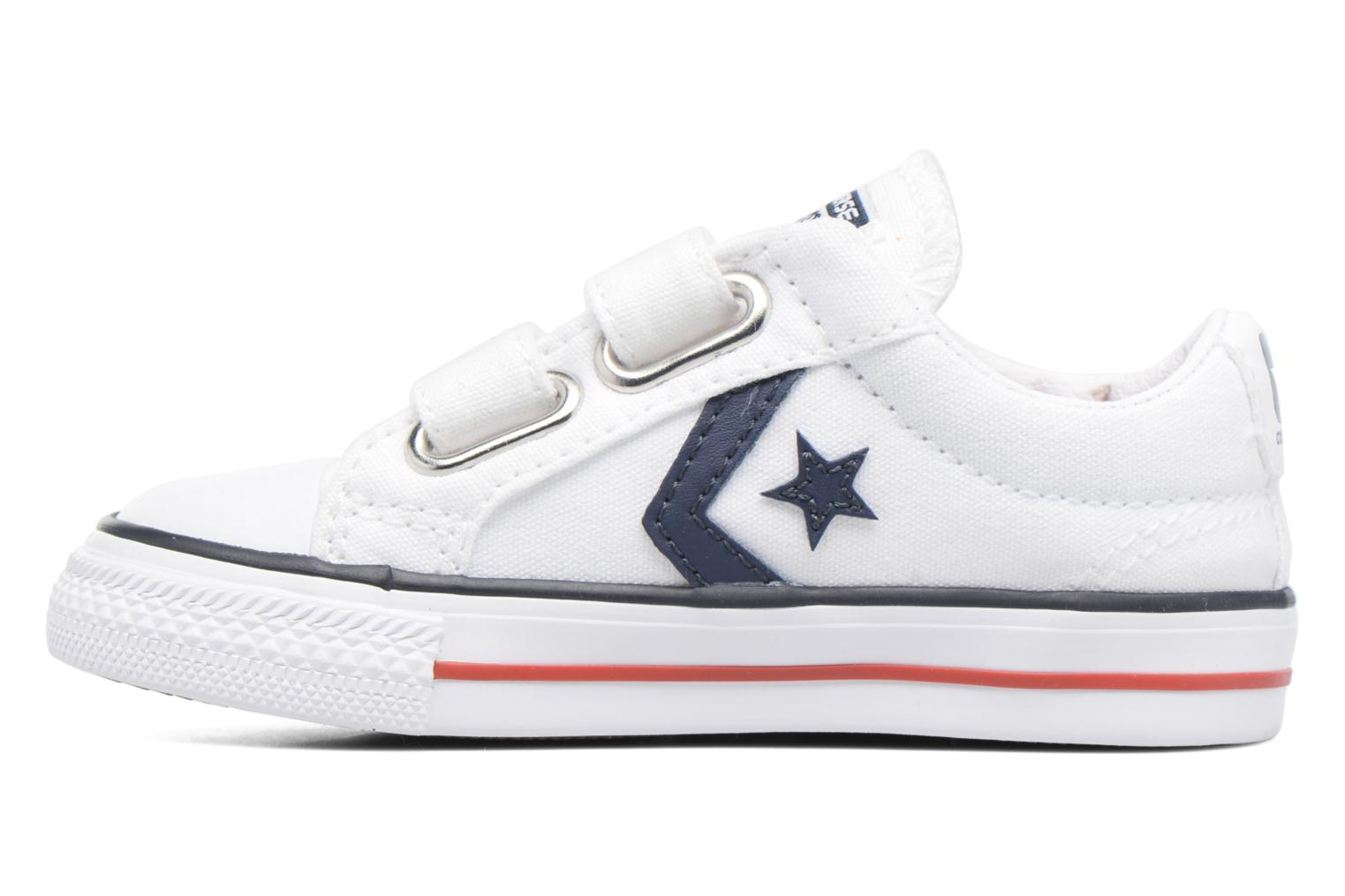 Trainers Converse Star Player 2V Ox White front view