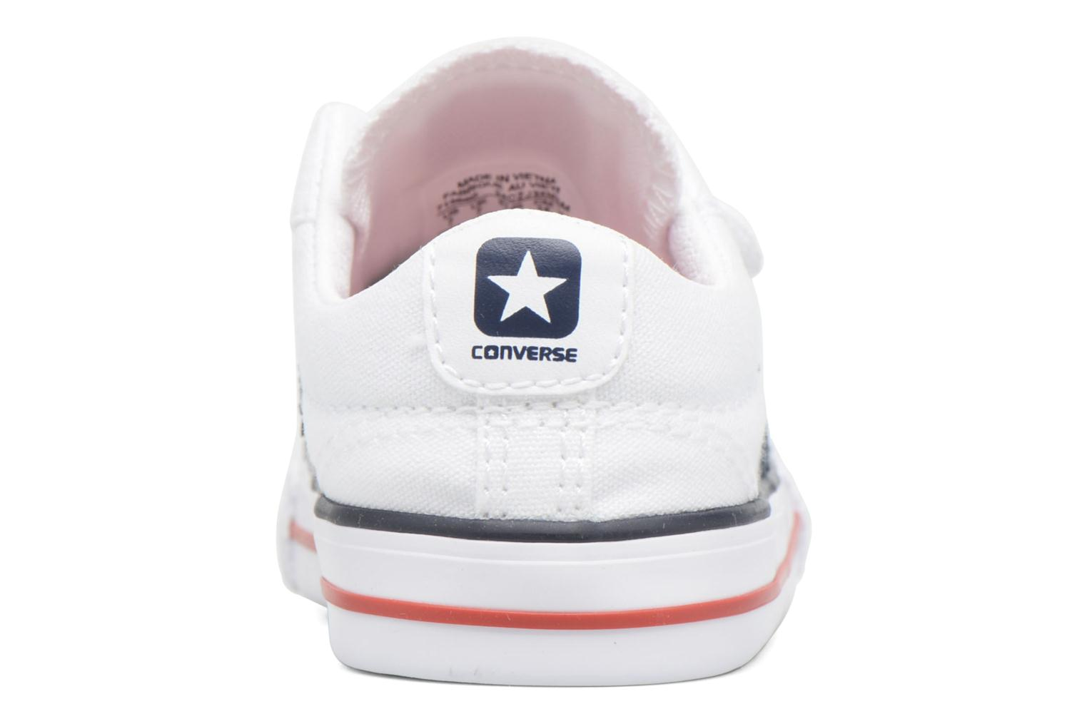 Trainers Converse Star Player 2V Ox White view from the right