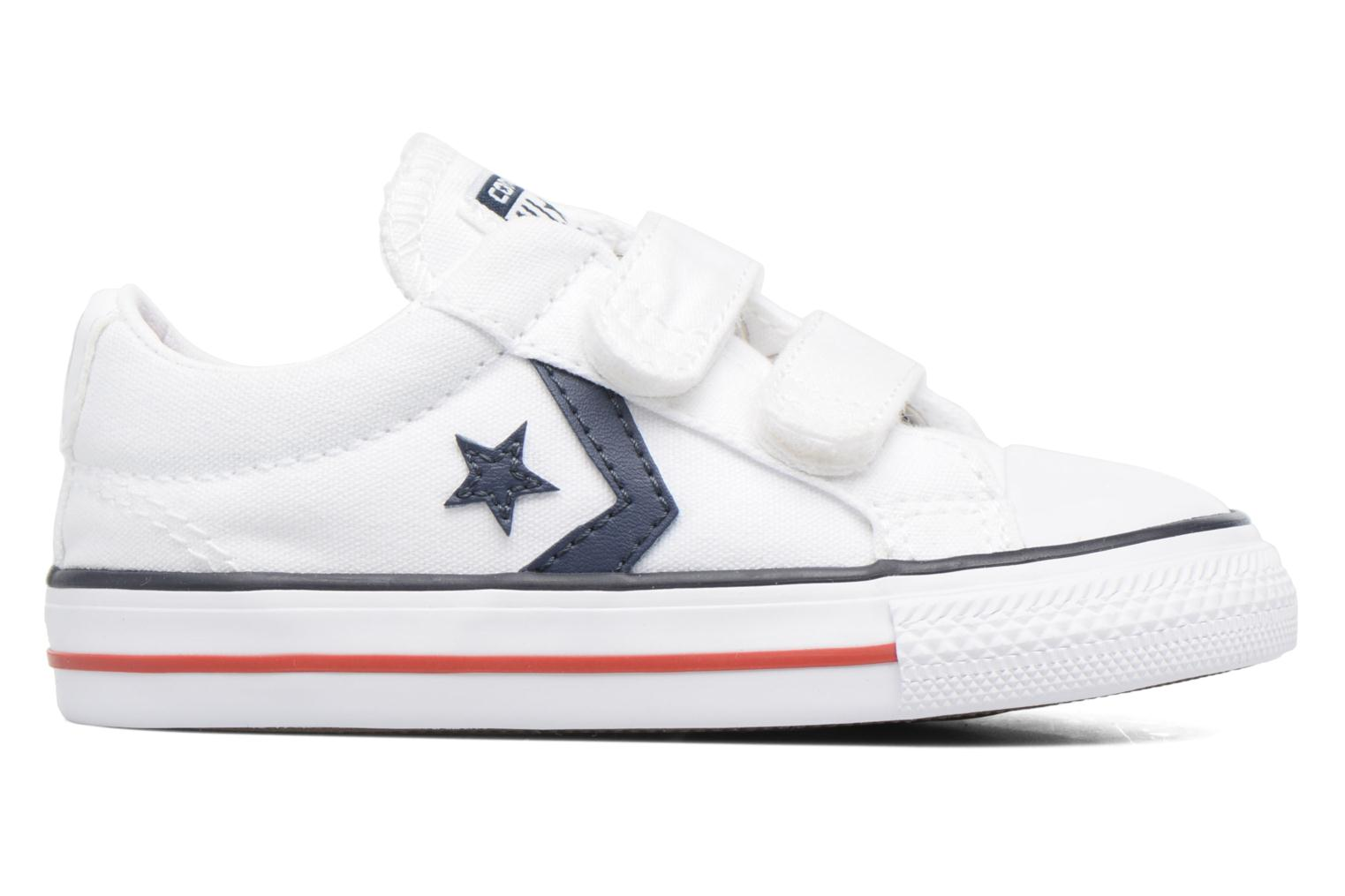 Trainers Converse Star Player 2V Ox White back view
