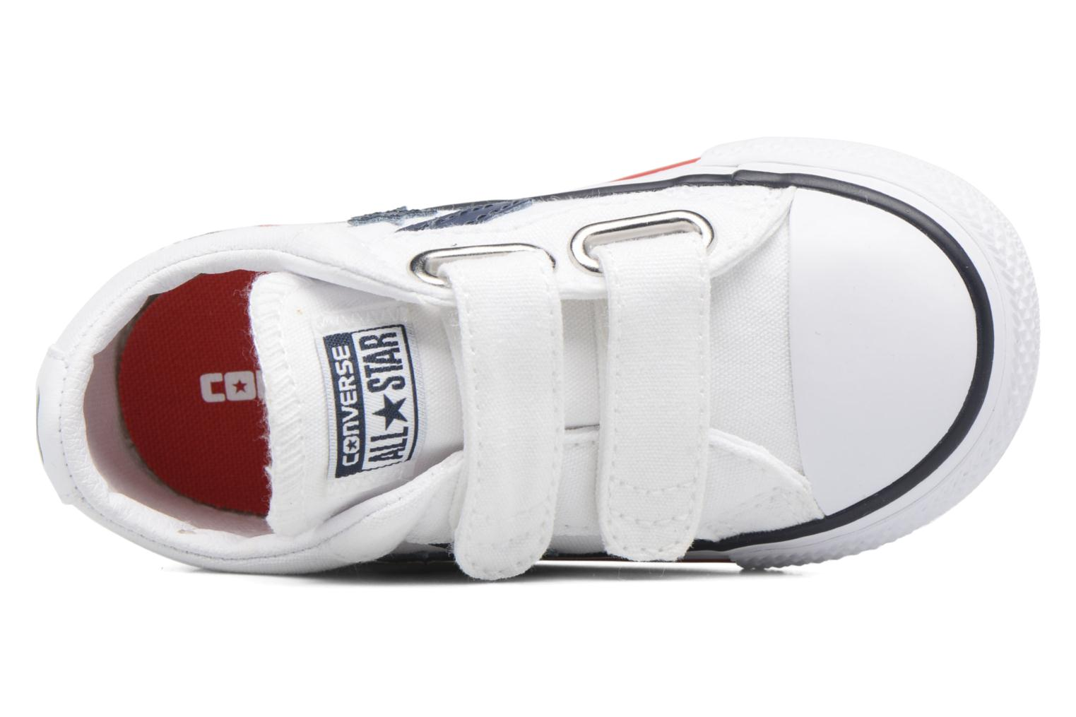 Sneakers Converse Star Player 2V Ox Bianco immagine sinistra