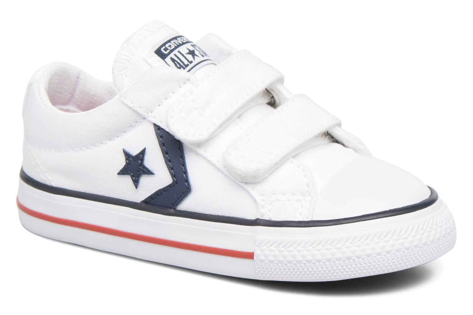 Sneakers Converse Star Player 2V Ox Wit detail