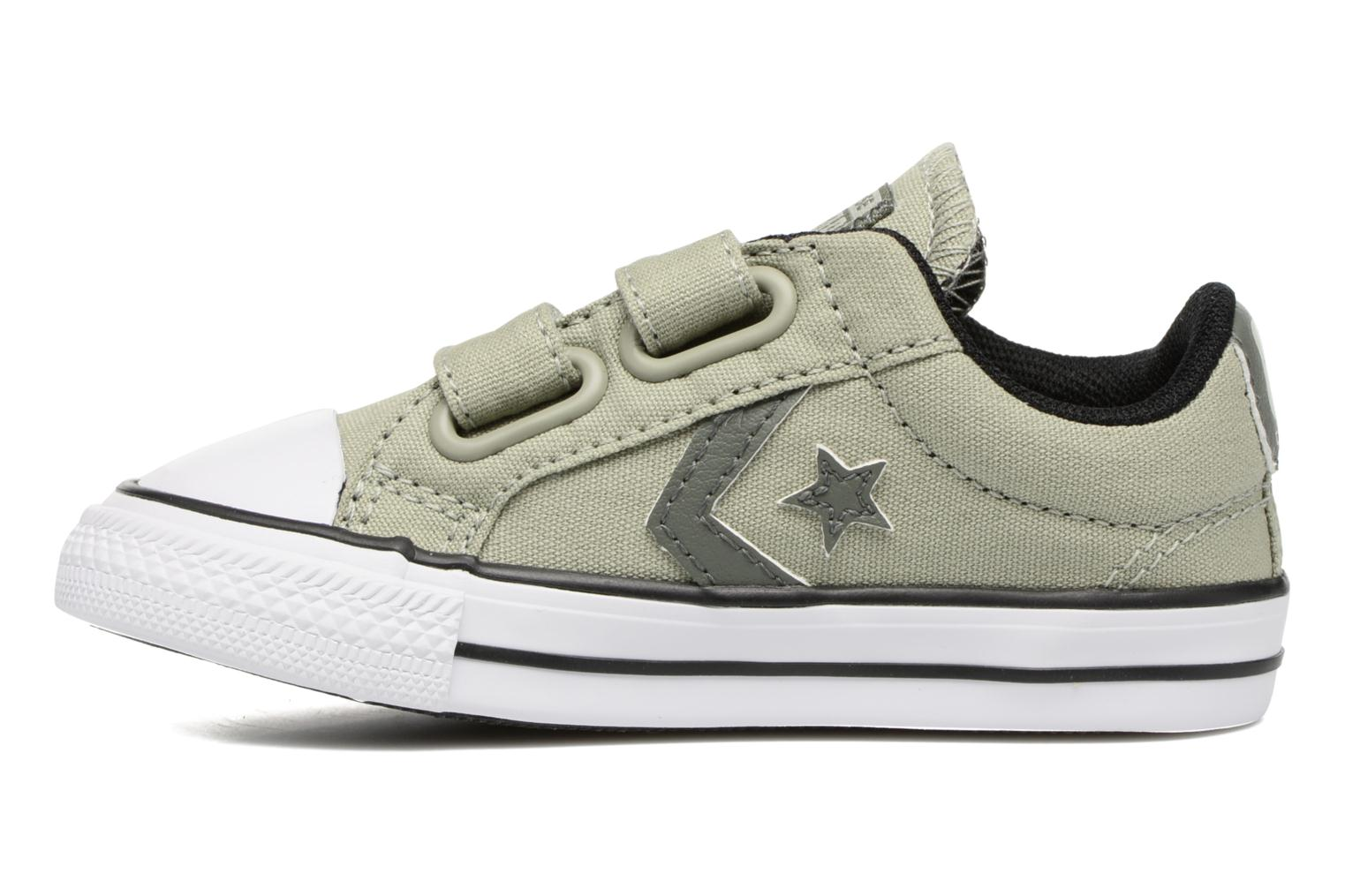 Trainers Converse Star Player 2V Ox Green front view