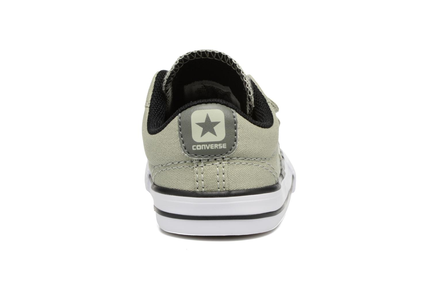 Trainers Converse Star Player 2V Ox Green view from the right
