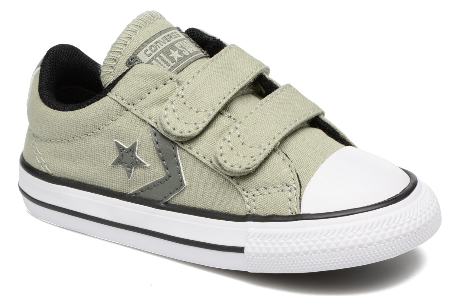 Baskets Converse Star Player 2V Ox Vert vue détail/paire