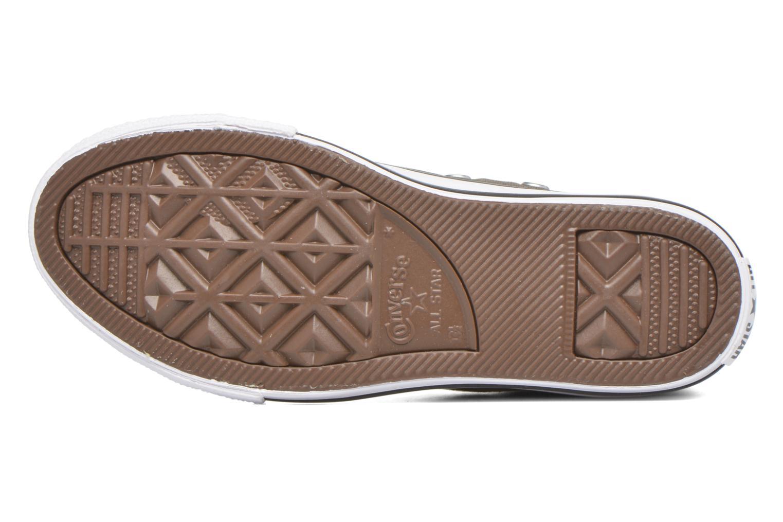 Sneaker Converse Chuck Taylor All Star Sp Hi grau ansicht von oben