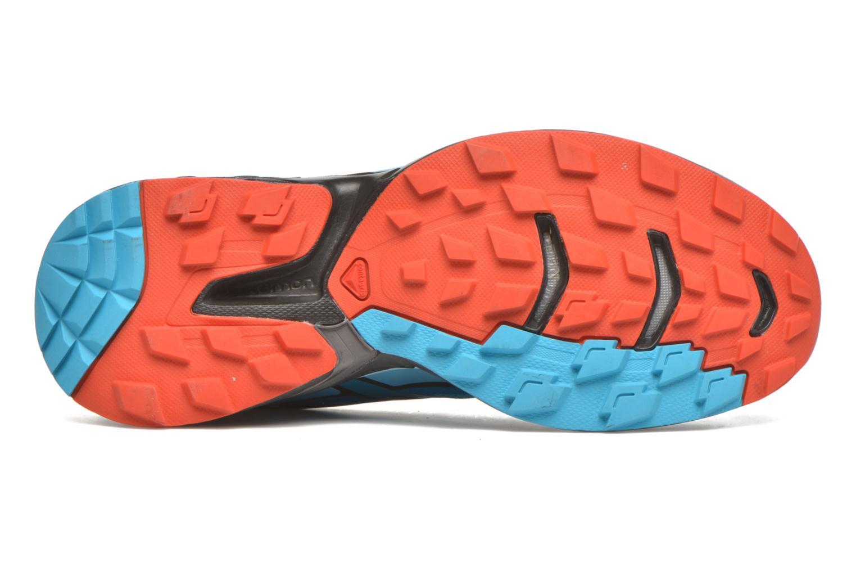 Chaussures de sport Salomon Wings Pro 2 W Bleu vue haut