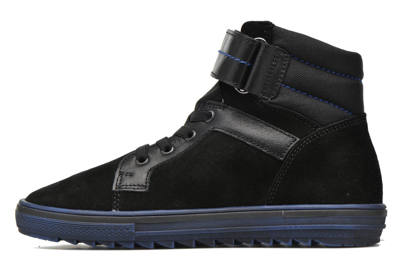 Sneakers Richter Benno Zwart voorkant