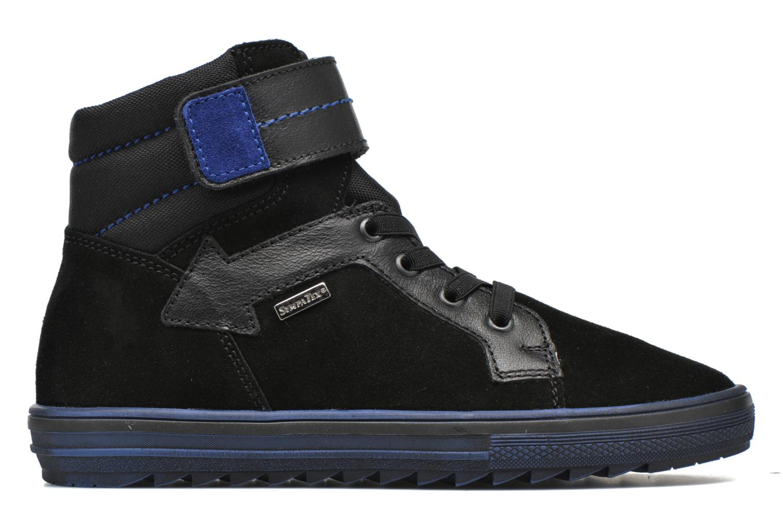 Sneakers Richter Benno Zwart achterkant