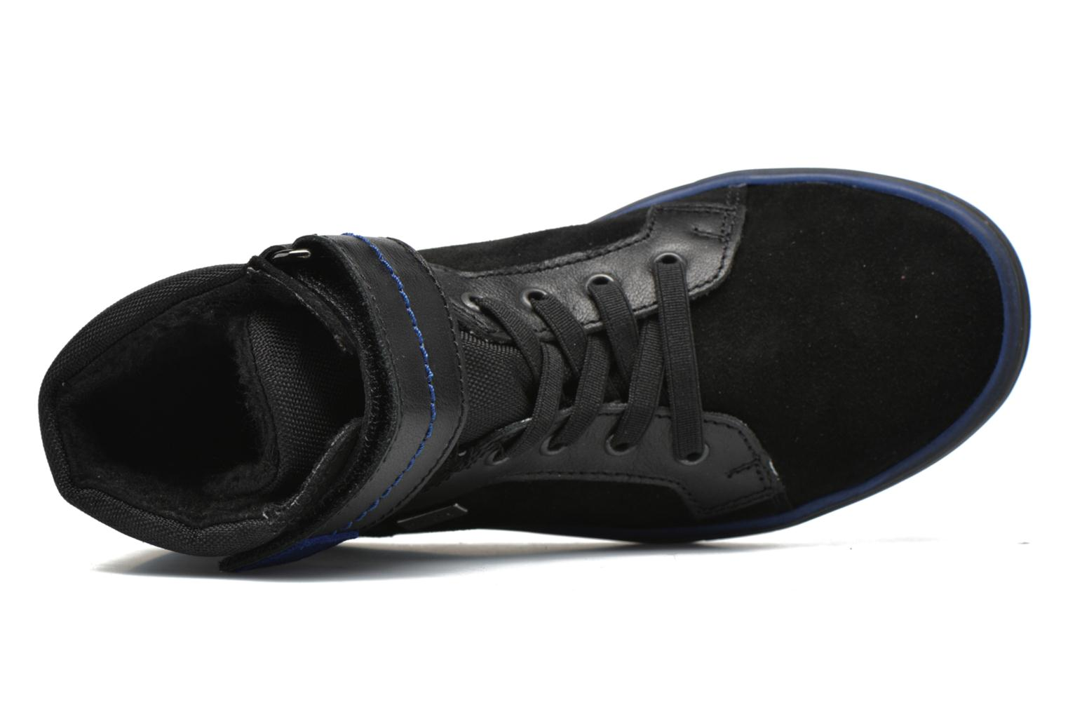 Trainers Richter Benno Black view from the left