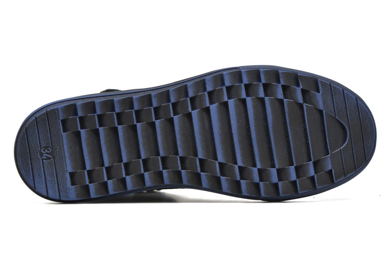 Sneakers Richter Benno Zwart boven