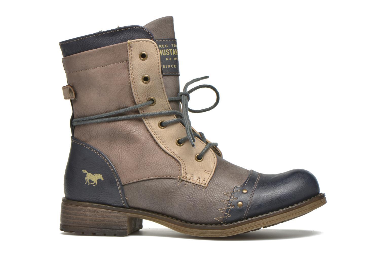 Bottines et boots Mustang shoes Christa K Bleu vue derrière