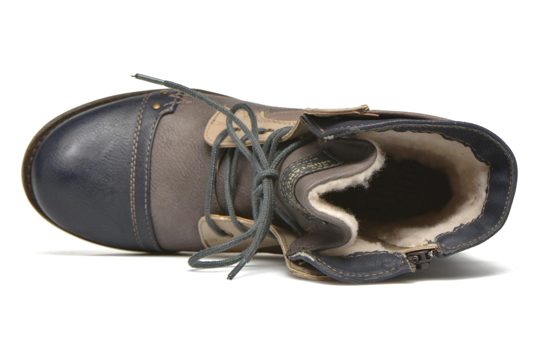 Bottines et boots Mustang shoes Christa K Bleu vue gauche
