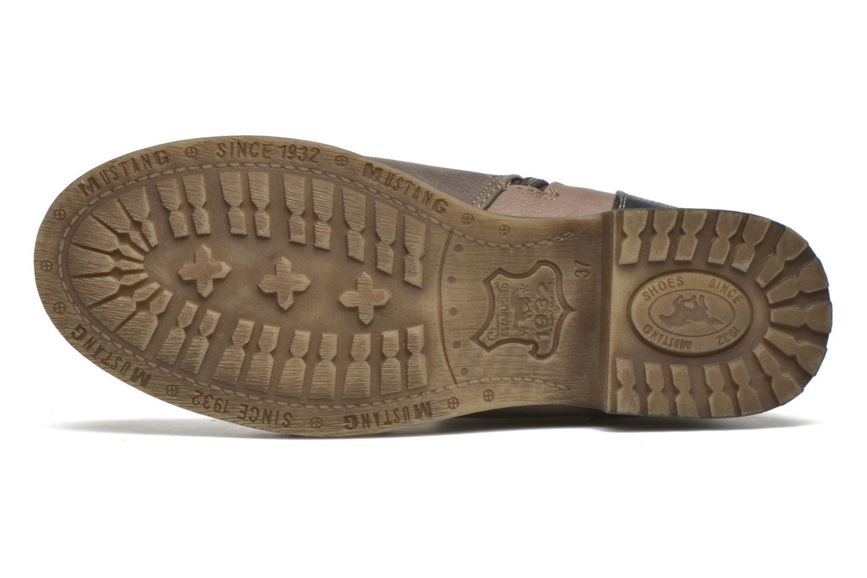 Bottines et boots Mustang shoes Christa K Bleu vue haut