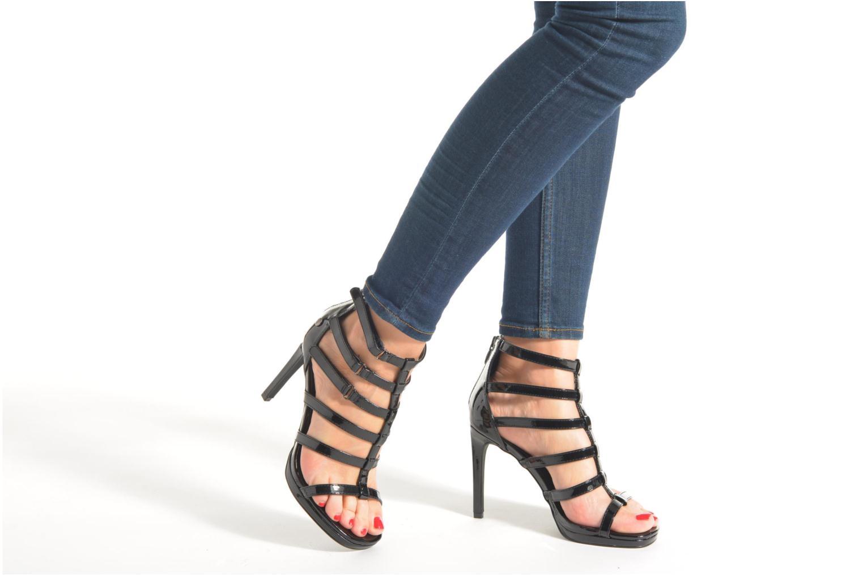 Sandales et nu-pieds Blink Callal Noir vue bas / vue portée sac