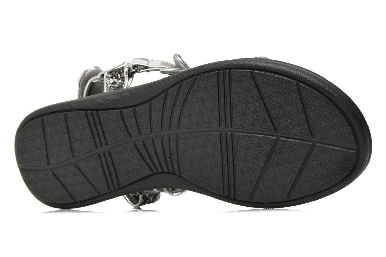 Sandales et nu-pieds Blink Kuri B Argent vue haut