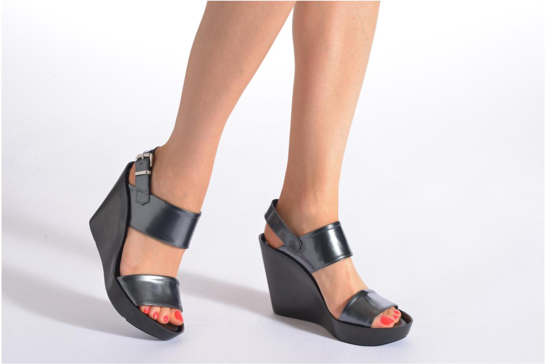 Sandali e scarpe aperte Bronx Anner Grigio immagine dal basso