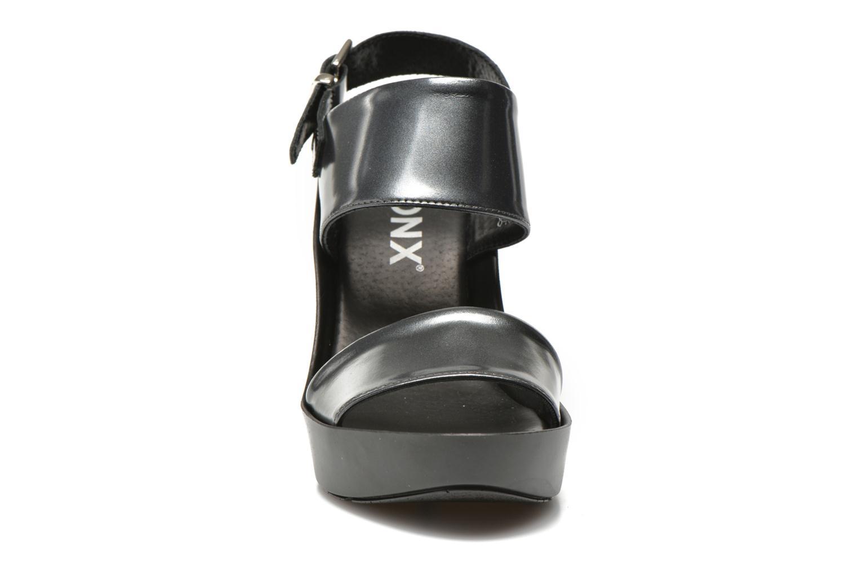 Sandali e scarpe aperte Bronx Anner Grigio modello indossato