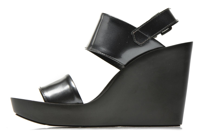 Sandali e scarpe aperte Bronx Anner Grigio immagine frontale