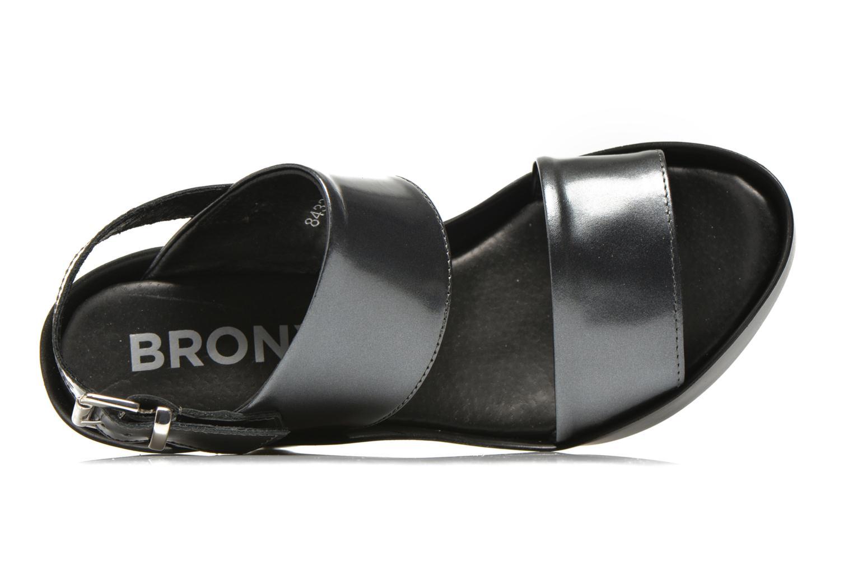 Sandali e scarpe aperte Bronx Anner Grigio immagine sinistra