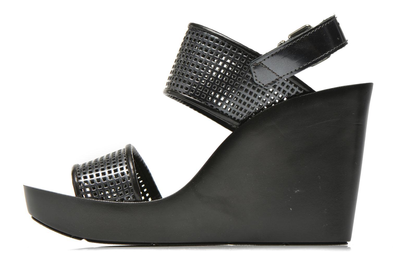 Sandali e scarpe aperte Bronx Anner A Grigio immagine frontale