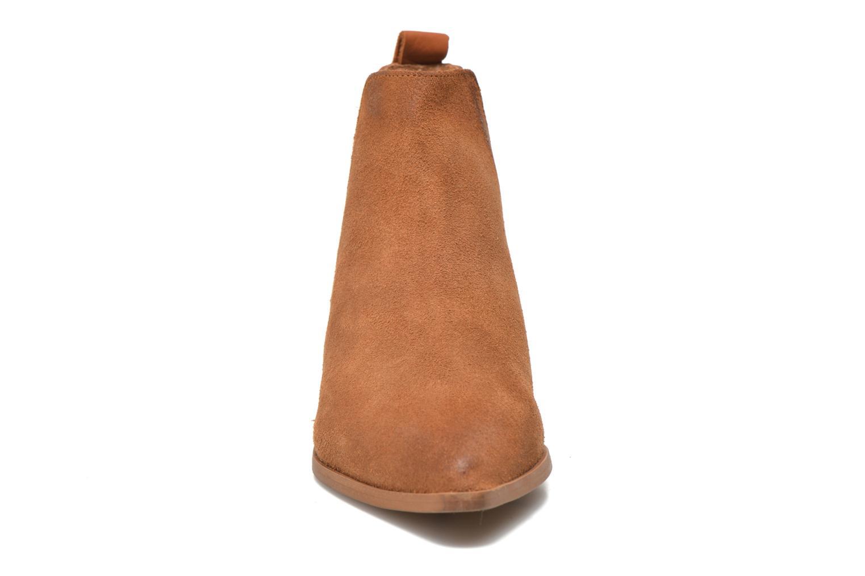 Bottines et boots Bronx Vik Marron vue portées chaussures
