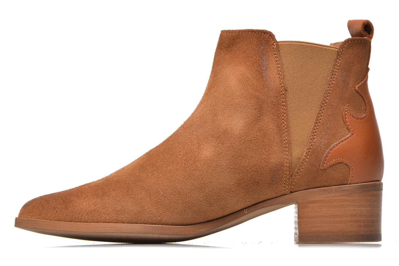 Bottines et boots Bronx Vik Marron vue face