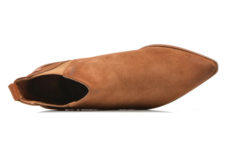 Bottines et boots Bronx Vik Marron vue gauche