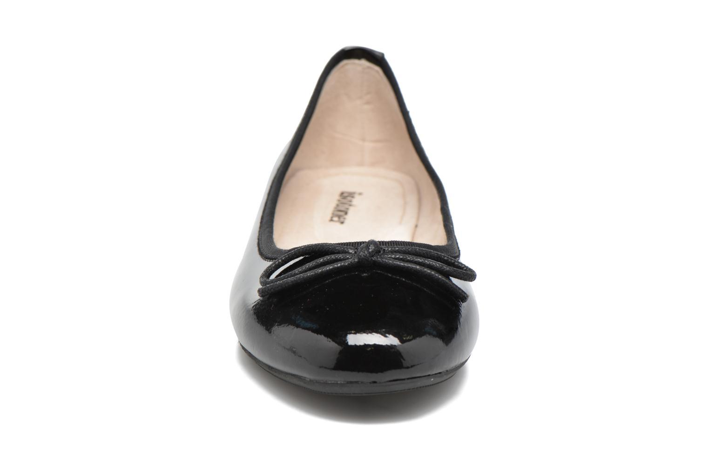 Ballerinas Isotoner Ballerine nœud schwarz schuhe getragen