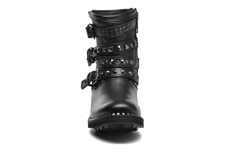 Bottines et boots Ash Tatoo Noir vue portées chaussures