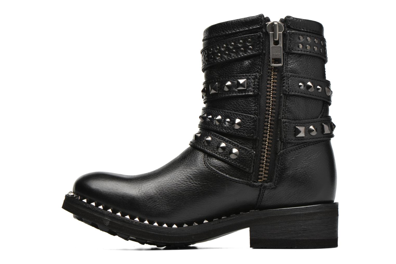 Bottines et boots Ash Tatoo Noir vue face
