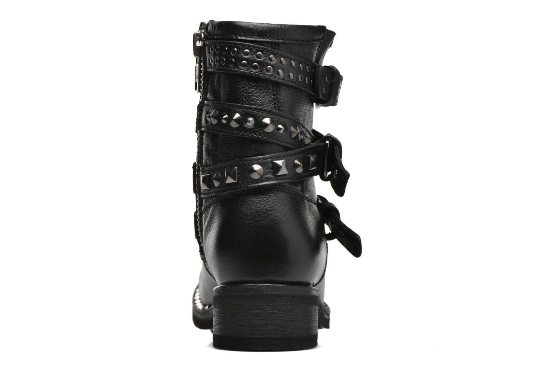 Bottines et boots Ash Tatoo Noir vue droite