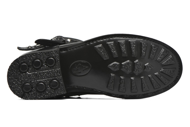 Bottines et boots Ash Tatoo Noir vue haut
