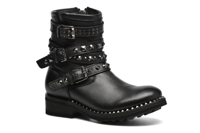 Bottines et boots Ash Tatoo Noir vue détail/paire