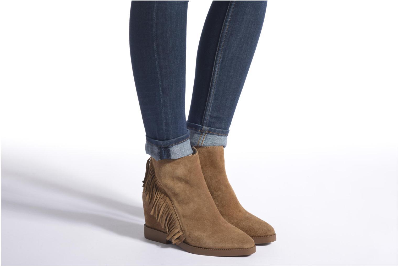Bottines et boots Ash Gossip Marron vue bas / vue portée sac