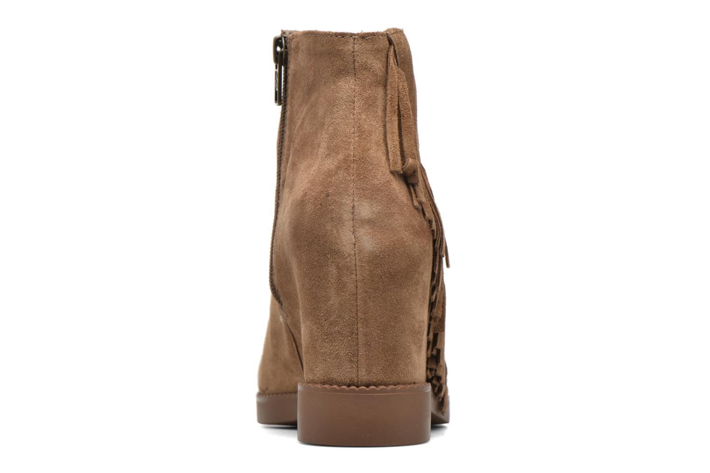 Bottines et boots Ash Gossip Marron vue droite