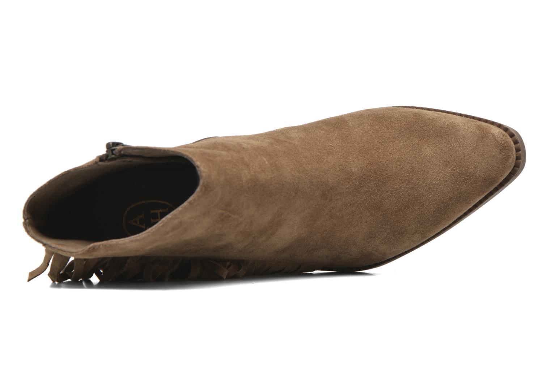 Bottines et boots Ash Gossip Marron vue gauche