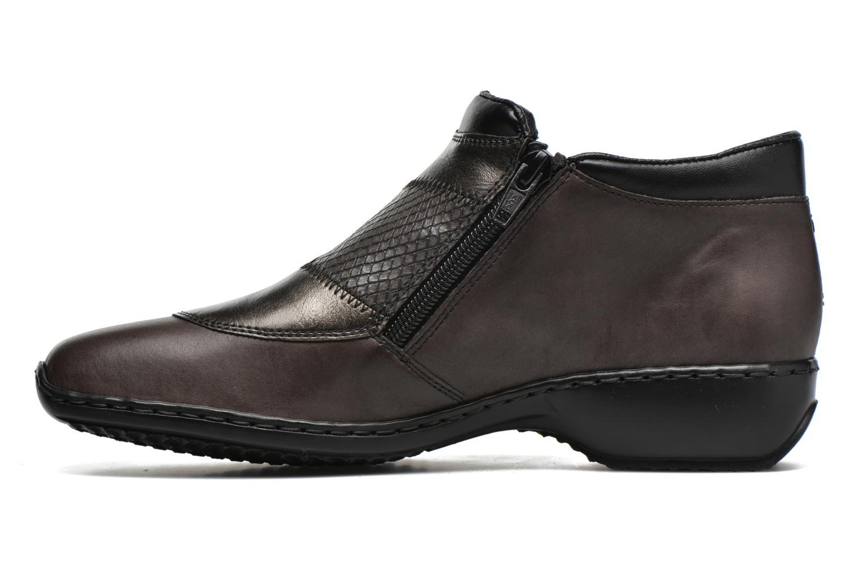 Bottines et boots Rieker Holy L3860 Gris vue face