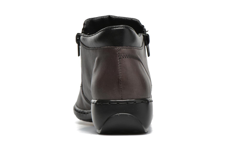 Bottines et boots Rieker Holy L3860 Gris vue droite