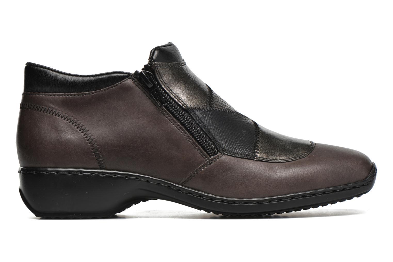 Bottines et boots Rieker Holy L3860 Gris vue derrière