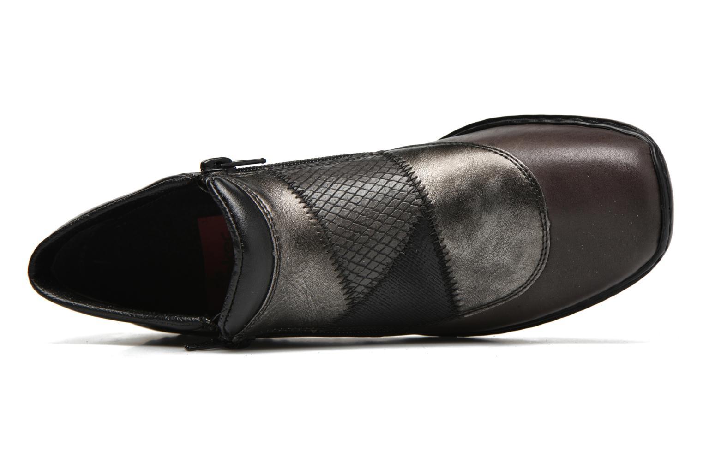 Bottines et boots Rieker Holy L3860 Gris vue gauche
