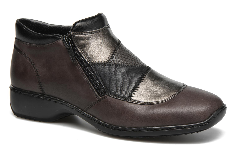 Rieker L3860 Gris - Chaussures Boot Femme