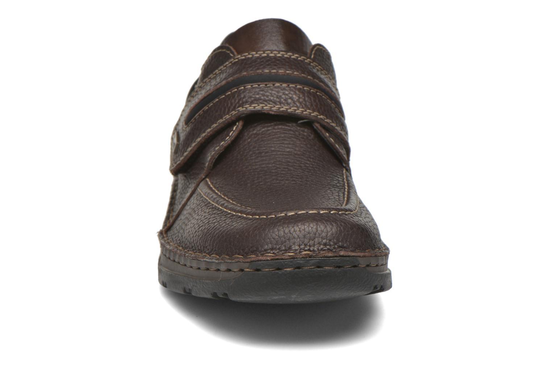 Chaussures à scratch Rieker Leo 05399 Marron vue portées chaussures