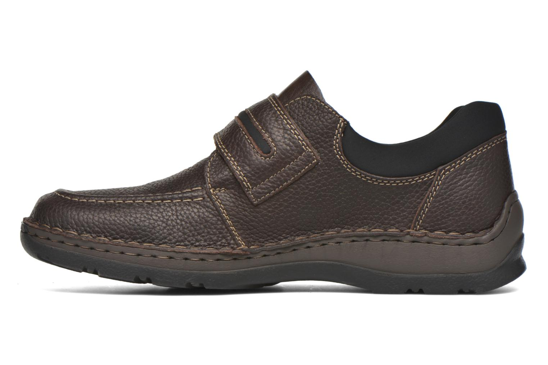 Chaussures à scratch Rieker Leo 05399 Marron vue face