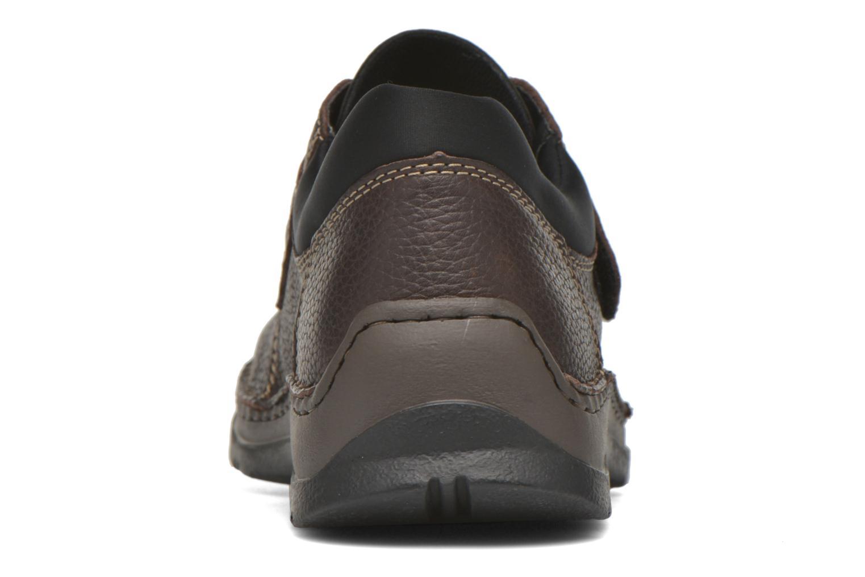 Chaussures à scratch Rieker Leo 05399 Marron vue droite