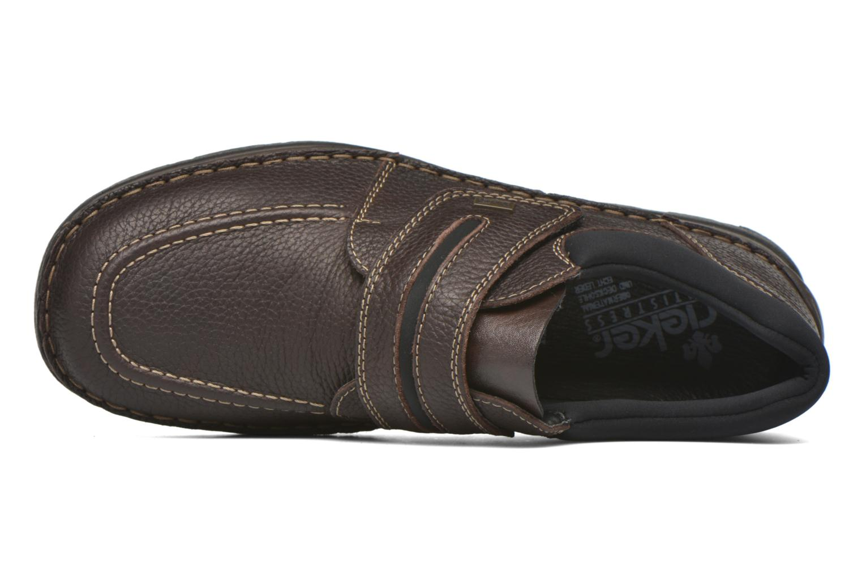 Chaussures à scratch Rieker Leo 05399 Marron vue gauche