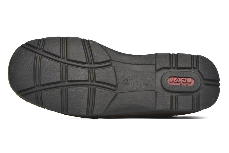Chaussures à scratch Rieker Leo 05399 Marron vue haut